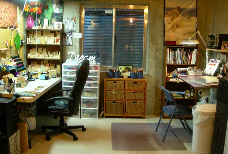 Picture interior home - Home art studio ...