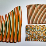 Polymer Clay Ripple Blade example C - Libby Mills